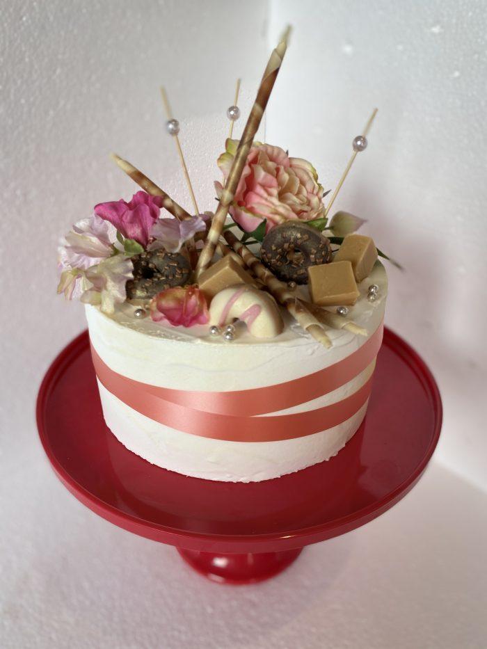 U mag uw taart zelf personaliseren