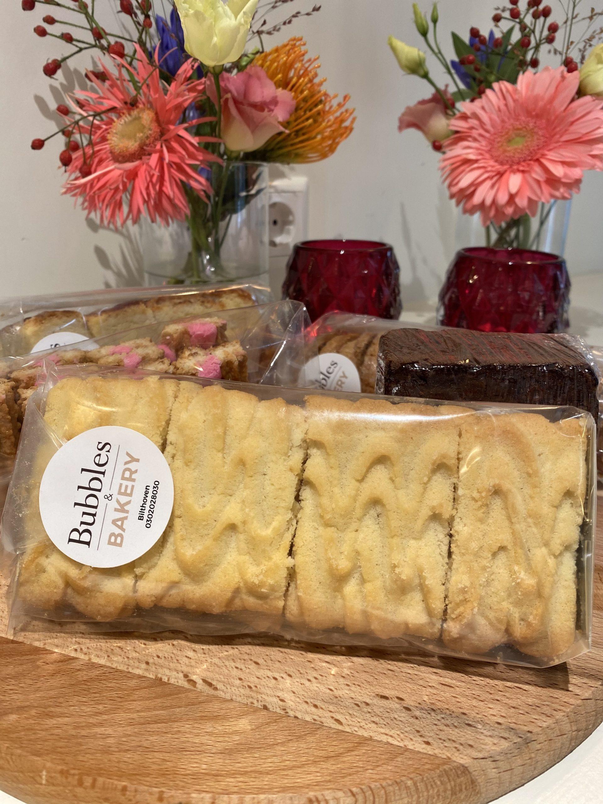 Spritsen koekjes van Bubbles & Bakery Bilthoven
