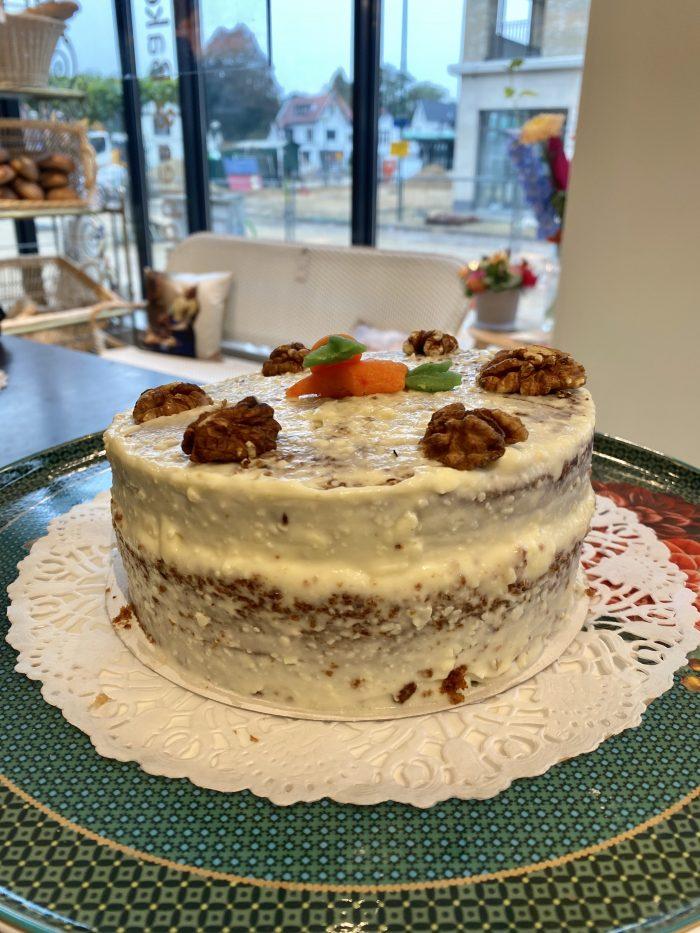 carrot cake / worteltjestaart Bubbles & Bakery